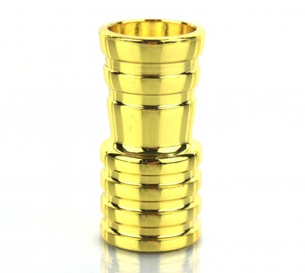 Amy Schlauchadapter Gold