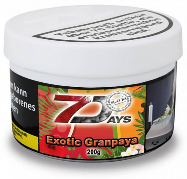7 Days Platin - Exotic Granpaya