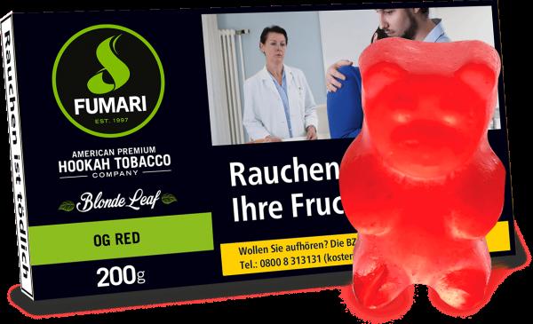 Fumari Tobacco - OG Red