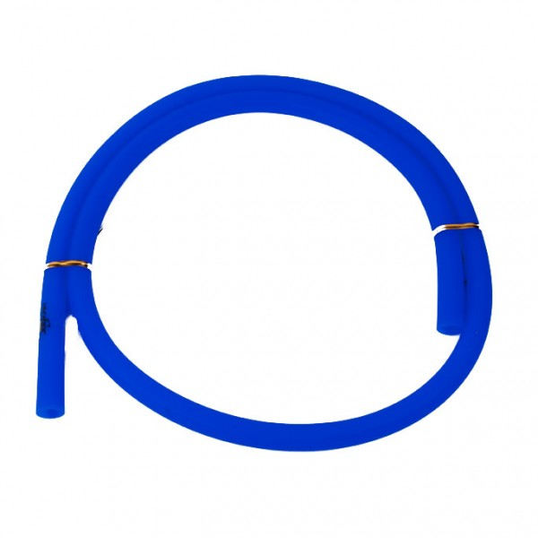 Jookah - Silikonschlauch Blau Matt