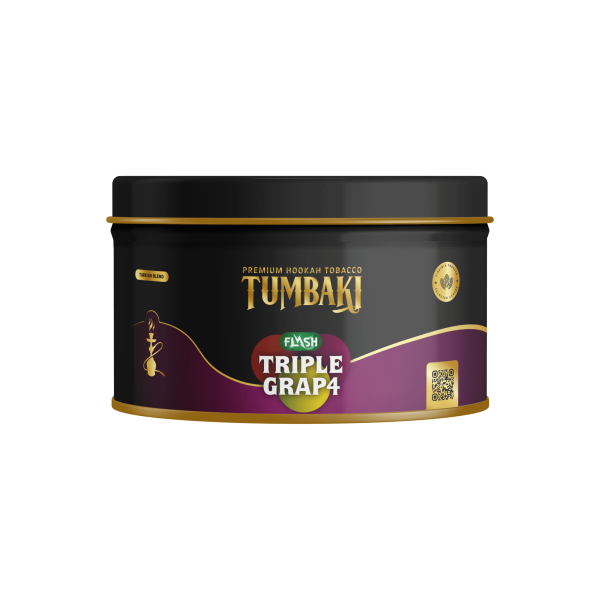 Tumbaki Tobacco 200g - Triple Grap Flash