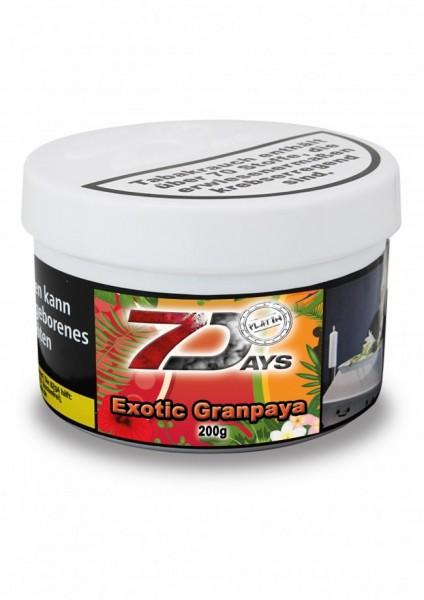 7 Days Platin 200g - Exotic Granpaya