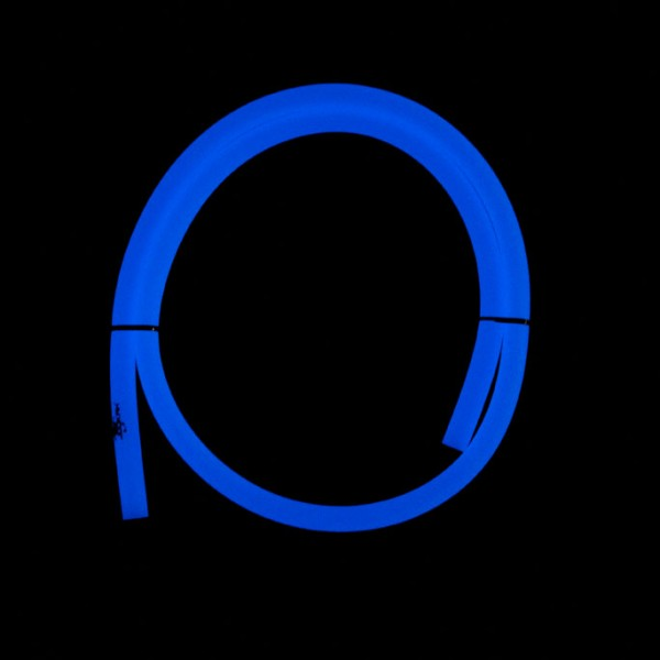 Jookah - Silikonschlauch Glow Blau Matt