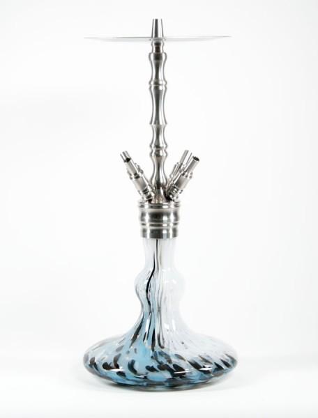 Octopuz Shisha - Nautiluz - Blau/Weiß/Schwarz