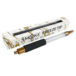 SMOKE2U FREEZE TIP - EIS MUNDSTÜCK - GOLD/WEIS