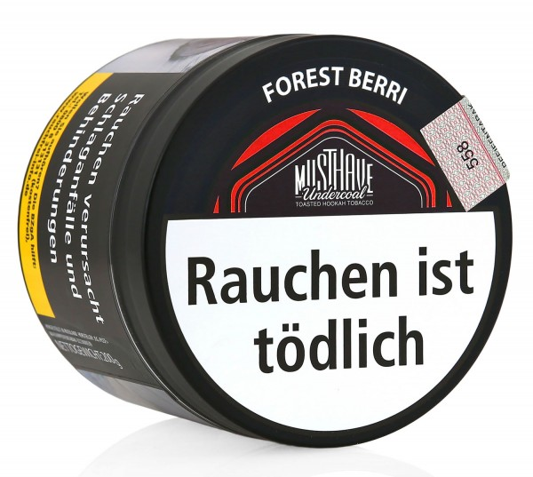 MUSTHAVE Tobacco 200g - Forest Berri