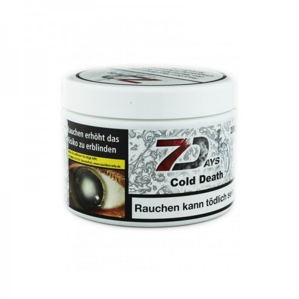 7Days Cold Death Tabak 200g